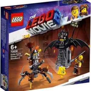 LEGO MOVIE PŘÍBĚH 2: Batman a Kovovous připraveni k boji 70836 STAVEBNICE