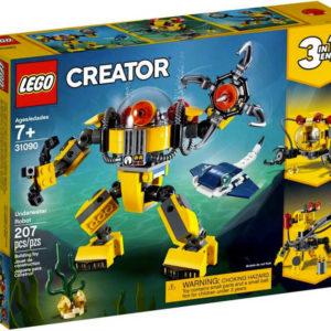 LEGO CREATOR Podvodní robot 3v1 31090 STAVEBNICE
