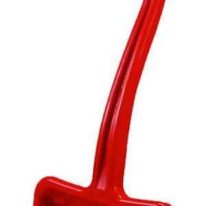 Lopata dětská hráblo plastové na sníh T-ručka červené 70cm