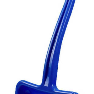 Lopata dětská hráblo plastové na sníh T-ručka modré 70cm