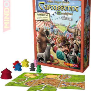 MINDOK HRA Carcassonne rozšíření 10: Cirkus *SPOLEČENSKÉ HRY*