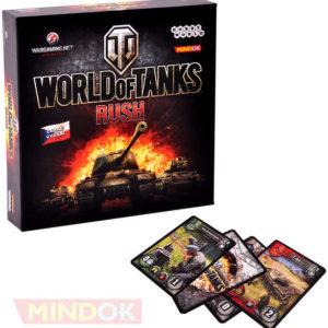 MINDOK HRA World of Tanks: Rush *SPOLEČENSKÉ HRY*