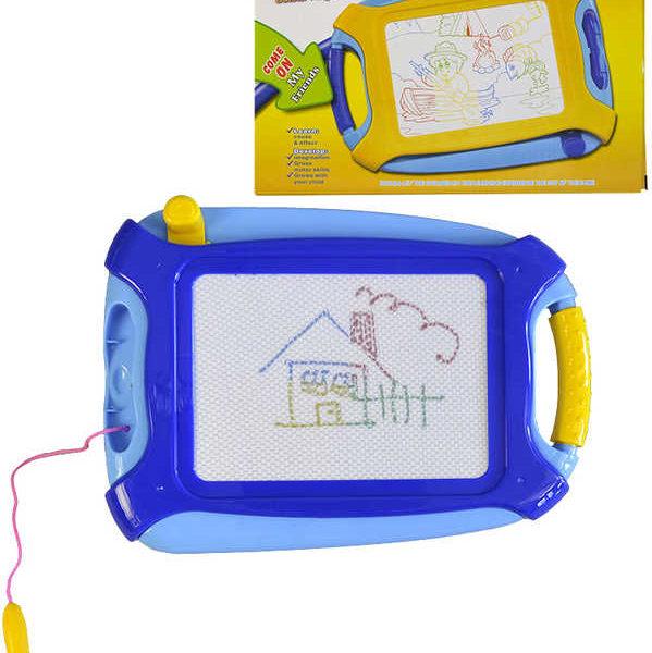 Tabulka dětská kreslicí magnetická 26cm s kouzelným perem plast