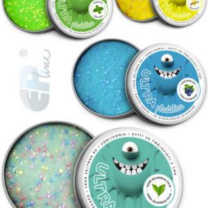 EP line Inteligentní plastelína 80g chytrá hmota s vuní a glitry s kuličkami