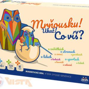 VISTA Hra magnetická Mrňousku! Ukaž co víš? SPOLEČENSKÉ HRY