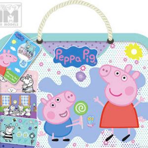 JIRI MODELS Blok s podložkou Peppa Pig omalovánky na cesty