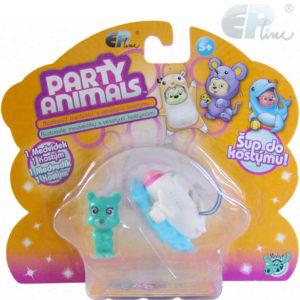 EP Line Party Animals set medvídek s kostýmem a doplňky různé druhy