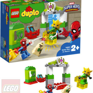 LEGO DUPLO SUPER HEROES Spiderman vs. Electro 10893 STAVEBNICE