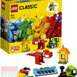 LEGO CLASSIC Kostky a nápady 11001 STAVEBNICE
