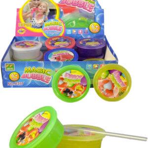 Bublina magická hmota 6 barev v krabičce guma