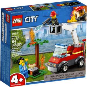 LEGO CITY Grilování a požár 60212 STAVEBNICE