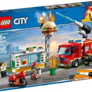 LEGO CITY Záchrana burgrárny 60214 STAVEBNICE