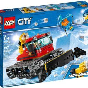 LEGO CITY Rolba 60222 STAVEBNICE