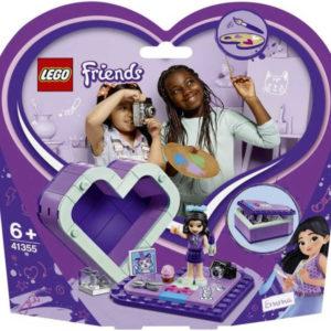 LEGO FRIENDS Emmina srdcová krabička 41355 STAVEBNICE