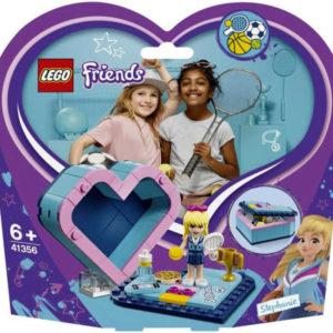 LEGO FRIENDS Stephanina srdcová krabička 41356 STAVEBNICE