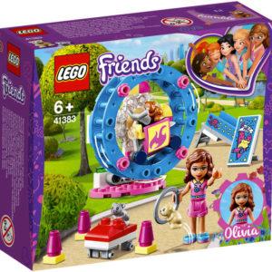 LEGO FRIENDS Hřiště pro Oliviiny křečky 41383 STAVEBNICE