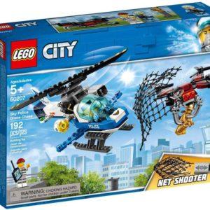 LEGO CITY Letecká policie a dron 60207 STAVEBNICE