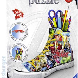 RAVENSBURGER Puzzle 3D Kecka Avengers stojánek na tužky 108 dílků