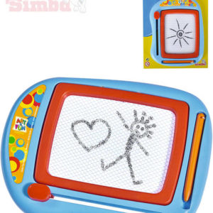 SIMBA Magická tabulka kreslící magnetická 16x13cm Art and Fun