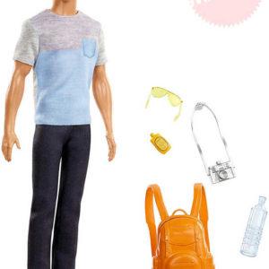 MATTEL BRB Barbie panák Ken cestovatel set s doplňky
