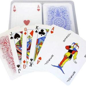 BONAPARTE Hra karty Canasta v plastové krabičce *SPOLEČENSKÉ HRY*