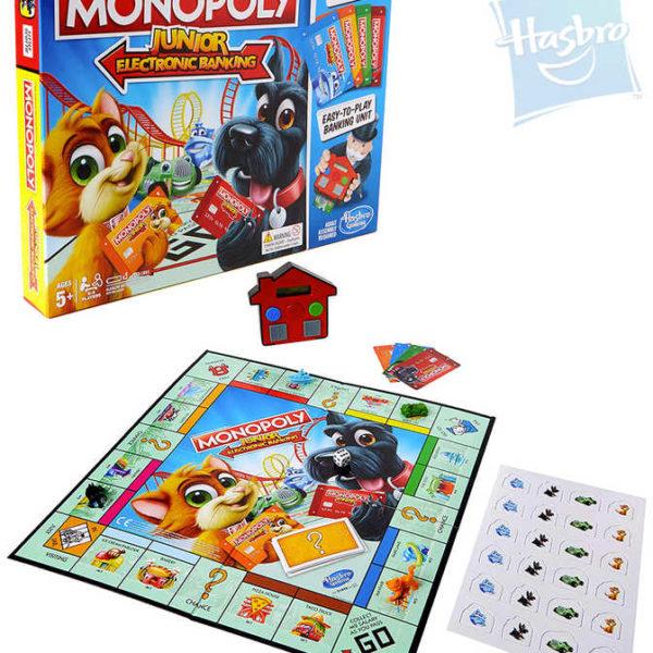 HASBRO HRA Monopoly Junior Electronic Banking SPOLEČENSKÉ HRY