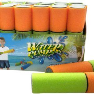 Dělo vodní soft pěnová trubice lehká dvoubarevná na vodu 2 barvy
