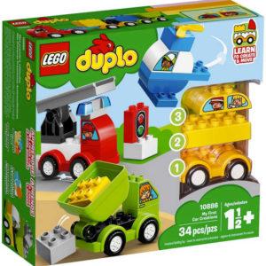 LEGO DUPLO Moje první vozidla 10886 STAVEBNICE