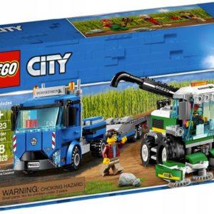 LEGO CITY Kombajn 60223 STAVEBNICE