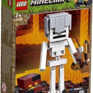 LEGO MINECRAFT Velká figurka: Kostlivec s pekelným slizem 21150 STAVEBNICE