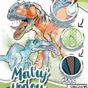 JIRI MODELS Vodová omalovánka A4 Dinosauři