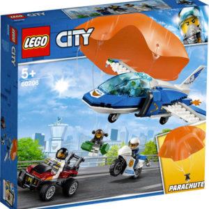 LEGO CITY Zatčení zloděje s padákem 60208 STAVEBNICE