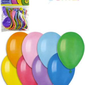 GEMAR Balónky nafukovací 19cm Pastelové barevné set 10ks v sáčku