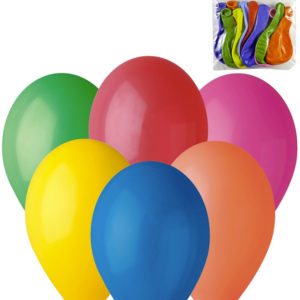 GEMAR Balónky nafukovací 26cm Pastelové barevné set 10ks v sáčku