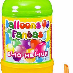 Helium 1,2l jednorázové na plnění nafukovacích balonků plynová láhev set s násadou