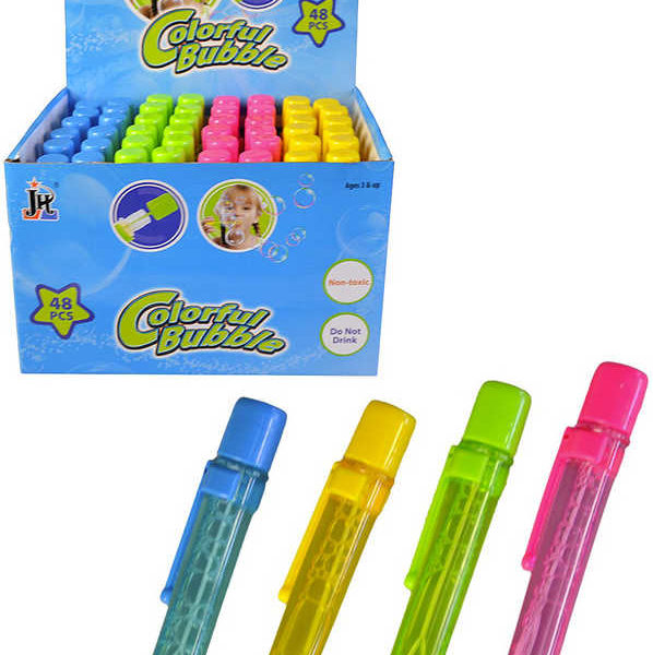 Bublifuk propiska dětský bublifukovač 4 barvy