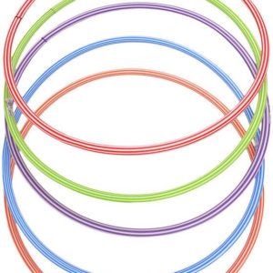 PL Obruč dětská gymnastická malá 60cm kruh Hula-Hop 5 barev