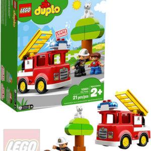LEGO DUPLO Hasičské auto 10901 STAVEBNICE