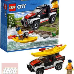 LEGO CITY Dobrodružství na kajaku 60240 STAVEBNICE