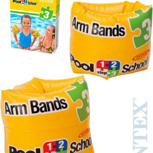 INTEX Dětské nafukovací rukávky 20x15cm žluté 1 pár do vody 56643