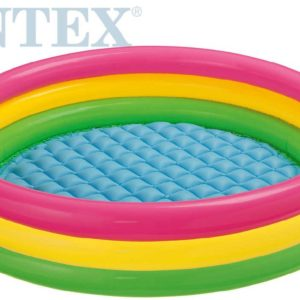 INTEX Bazén dětský Sunset Glow kruh 114x25cm nafukovací 57412