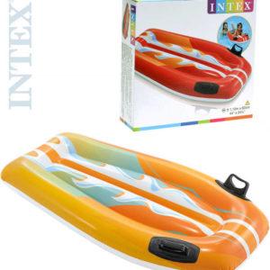 INTEX Lehátko s úchyty (matrace) nafukovací 112x62cm do vody 58165 2 barvy