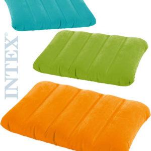 INTEX Polštář nafukovací Kidz relaxační pastelový 3 barvy 68676