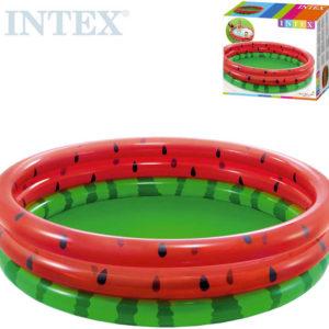 INTEX Baby bazének nafukovací kulatý 168x38cm meloun 58448