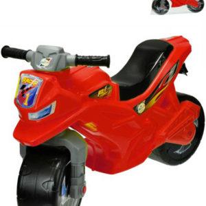 Motorka odrážedlo červené