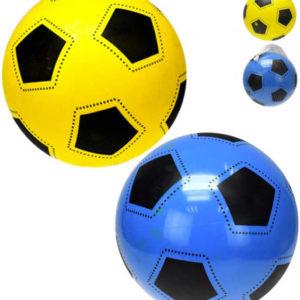 Míč 22cm design fotbal 2bar.