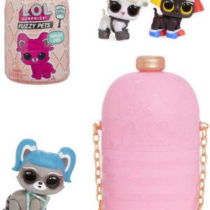 L.O.L. Surprise Fuzzy Pets set zvířátko s doplňky 7 překvapení různé druhy