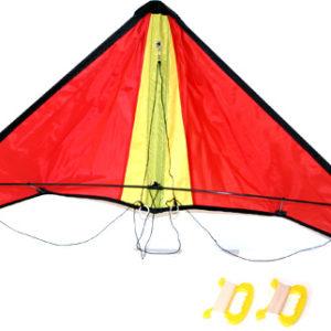 Drak rogalo nylon létající 127 x 38 cm