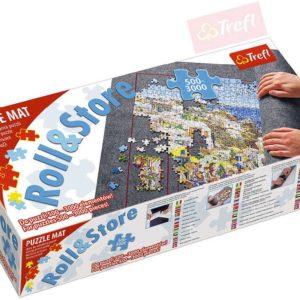 TREFL Podložka rolovací koberec set na úschovu a transport puzzle obrázků