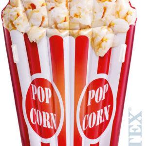 INTEX Lehátko nafukovací Popcorn 178x124cm matrace na vodu s úchyty 58779